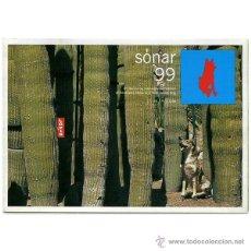 Música de colección: FESTIVAL SÒNAR 99 (6º EDICIÓN) - PROGRAMACIÓN DESPLEGABLE. Lote 68183634