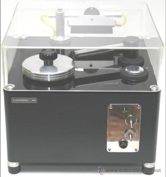 MAQUINA LIMPIA VINILOS AUTOMATICA RECORD CLEANING MACHINE CLEANERECORD COMPACT (Música - Varios)