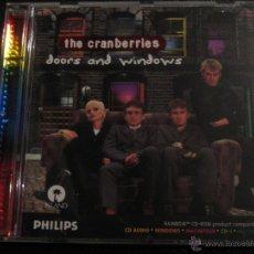 Música de colección: THE CRANBERRIES - DOORS AND WINDOWS CD-ROM - BANDA DE IRLANDA, LA CANTANTE SE LLAMA DOLORES.... Lote 41483620