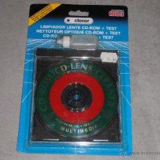 Musica di collezione: LIMPIADOR LENTE CD-ROM + TEST + LIQUIDO -T -. Lote 41763466
