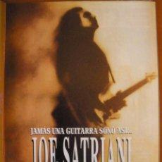 Música de colección: JOE SATRIANI THE EXTREMIST 1992 MAGAZINE ADVERT. Lote 42826947