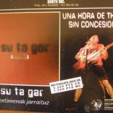 Música de colección: SU TA GAR 1996 PROMO MAGAZINE ADVERT. Lote 42832234