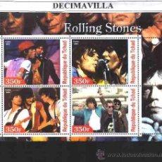 Música de colección: PRMS219, TCHAD, 2003, THE ROLLING STONES . Lote 42919885