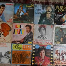 Música de colección: LOTE DE 12 DISCOS VARIADOS,2 EPES Y 10 SINGLES-SEGUN FOTOS. Lote 43509101
