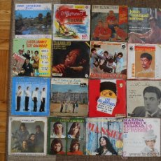 Música de colección: LOTE DE 16 DISCOS VARIADOS,8 EPES Y 8 SINGLES-SEGUN FOTOS. Lote 43509213