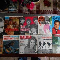 Música de colección: LOTE DE 10 DISCOS,SEGUN FOTOS. Lote 43564179