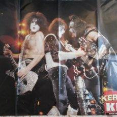 Música de colección: KISS. LOTE DE 5 POSTERS. INDIVISIBLE.. Lote 43591446