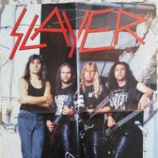Música de colección: SLAYER. VAN HALEN. POSTER CLÁSICO.. Lote 43593244