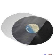 Música de coleção: 100 FUNDAS INTERIORES ANTIESTÁTICAS PARA VINILOS LP Y MAXI - REDONDAS - SIN PAPEL. Lote 267862599