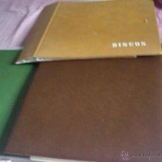 Música de colección: LOTE TRES ALBUNES PARA METER LPS ORIGINALES DE LOS 60. Lote 45145727