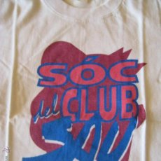 Música de colección: CAMISETA SAU - SÓC DEL CLUB SAU - USADA - TALLA L. Lote 45181840