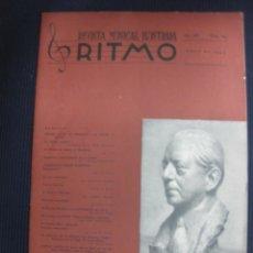 Música de colección: RITMO Nº 164. ABRIL 1943.REVISTA MUSICAL ILUSTRADA.FRANK MARSHALL.. Lote 45790641