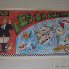 Música de colección: CURIOSIDAD: HAZAÑAS BÉLICAS, ES LA GUERRA. CÓMIC SOBRE LA CANCIÓN DE ORQUESTA MONDRAGÓN. GURRUCHAGA.. Lote 46003647