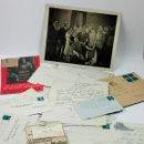 Música de colección: RAQUEL MELLER, LOTE DE DOCUMENTOS PARTICULARES DIRIGIDOS A LA ARTISTA, CON UNA FOTO, VER FOTOS.. Lote 46539655