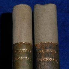 Música de colección: PROGRAMAS ORQUESTA NACIONAL - PALACIO DE LA MÚSICA - AÑOS 1957 A 1962. Lote 46912637