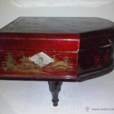 caja japonesa de musica con forma de piano funciona