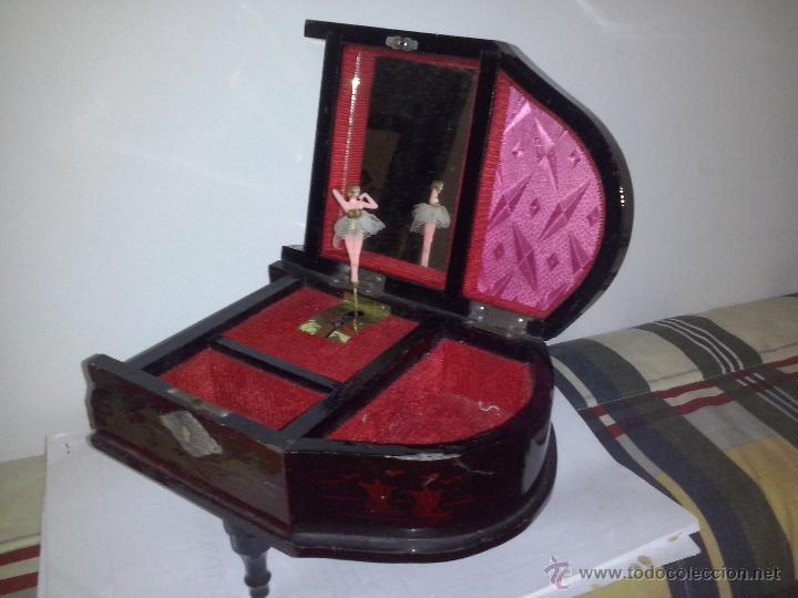 Música de colección: caja japonesa de musica con forma de piano funciona - Foto 3 - 46991229