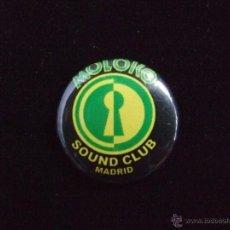 Música de colección: CHAPA MOLOKO SOUND CLUB. Lote 47251344