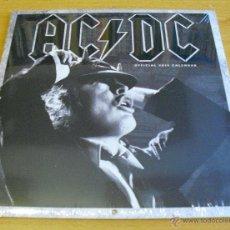 Música de colección: AC/DC - CALENDARIO PARED 2015 (TAMAÑO CERRADO 30 X 30 CM). Lote 47421786