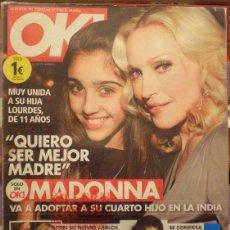 Música de colección: REVISTA OK Nº6 - MADONNA. Lote 47576025