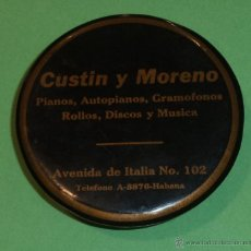 Música de colección: CEPILLO LIMPADISCOS CUSTIN MORENO. HABANA. VER FOTOS. Lote 48414835