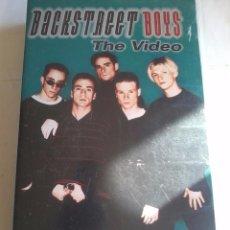 Música de colección: VHS. BACKSTREER BOYS. THE VIDEO. K. Lote 48930003