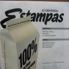 Música de colección: SIMON DIAZ. (TONADA Y SENTIMIENTO). RECORTES DE PRENSA SOBRE EL GRAN TÍO SIMÓN. CARACAS. 1998.. Lote 48989349