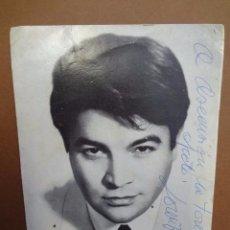 Música de colección: LORENZO VALVERDE - FOTOGRAFIA POSTAL DEDICADA - PB1. Lote 49396613