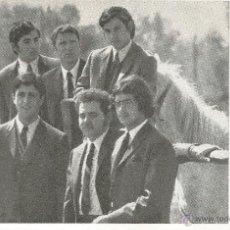 Música de colección: FOTOGRAFIA DEL GRUPO DE TARRAGONA CONJUNTO MUSICAL LOS ALMIS AÑOS 60 70 MBE 17,5 X 11,5 CM . Lote 49826269