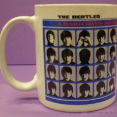 Música de colección: TAZA BEATLES - A HARD DAY'S NIGHT. Lote 50138488