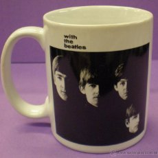 Música de colección: TAZA BEATLES - WITH THE BEATLES. Lote 50138678