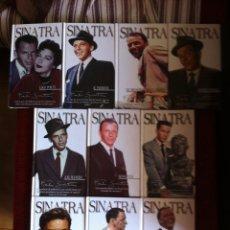 Música de colección: COLECCION FRANK SINATRA ( CD - LIBRO ) 10 LIBROS + 20 CDS. Lote 50205718