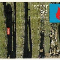 Música de colección: PROGRAMA DE MANO 6º FESTIVAL SONAR, BARCELONA 1999. Lote 50854266