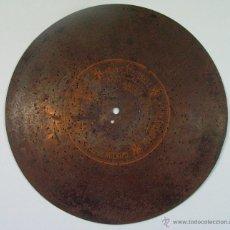 Música de colección: LA JOTA ARAGONESA. ARAGON. ANTIGUO DISCO DE METAL PARA CAJA DE MUSICA . Lote 51141782