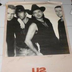 Música de colección: PÓSTER DE U2, DE 1988. Lote 51767562