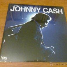 Música de colección: JOHNNY CASH - 2016 OFFICIAL 18 MONTH CALENDAR (PARED, CERRADO 30'5X30'5 CM, ISBN: 978-1-4650-3927-9). Lote 52820460
