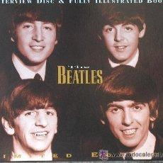 Música de colección: BEATLES LIBRO+CD ENTREVISTAS 120 PAGINAS. Lote 52985261