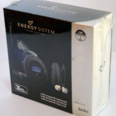 Música de colección: MP3 PARA COCHE TRANSMISOR RADIO FM REPRODUCTOR PORTATIL ENERGY SISTEM 1204 4G DEEP BLACK SIN ABRIR N. Lote 53267663