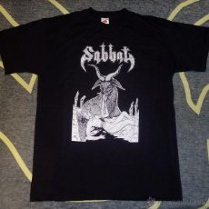 Musica di collezione: SABBAT - MONSTER/ FAR EAST BLACKING METAL - CAMISETA [TALLA M]. Lote 53370592
