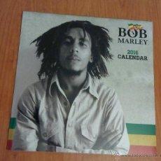 Música de colección: BOB MARLEY - 2016 CALENDAR (CALENDARIO PARED, CERRADO 30'5X30'5 CM, 978-1-84757-635-4). Lote 53405993