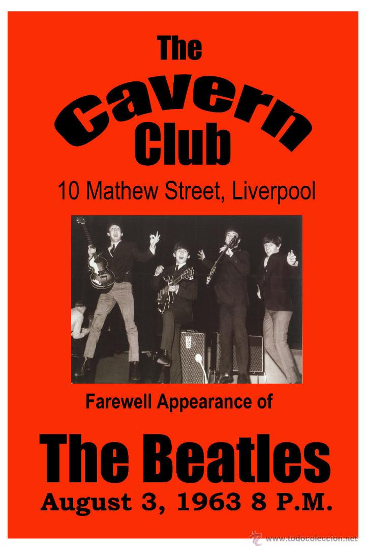 the beatles - for the cavern club liverpool pos - Comprar en ...