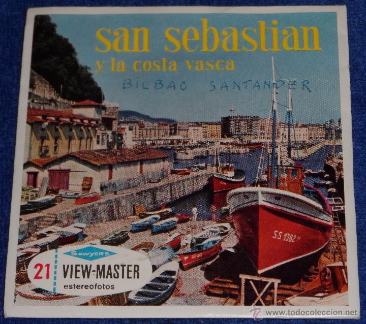 VIEW MASTER - SAN SEBASTIAN Y LA COSTA VASCA (1955) (Música - Varios)