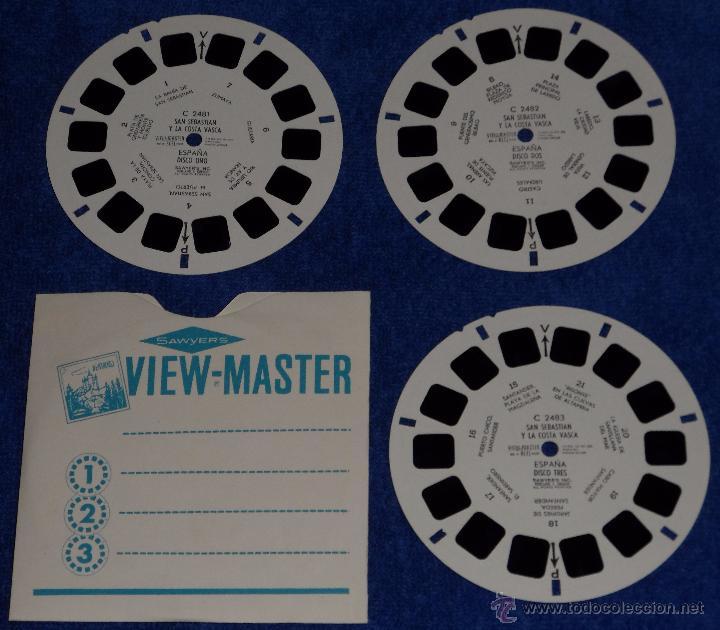 Música de colección: View Master - San Sebastian y la Costa Vasca (1955) - Foto 2 - 53634550
