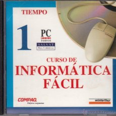 Música de colección: 4 CD-ROMS. CURSO DE INFORMÁTICA FÁCIL. PC PARA TODOS. SALVAT MULTIMEDIA.. Lote 53728021