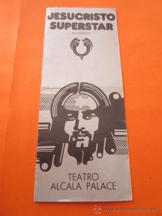 Folleto Triptico Teatro Alcala Palace Camilo Se Sold Through Direct Sale 55866141