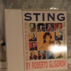 Música de colección: CAJA CON EL LIBRO STING ACOUSTIC LIVE IN NEWCASTLE , FALTA EL CD. Lote 54002774