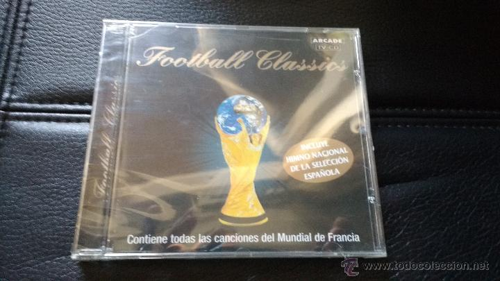 CD FOOTBALL CLASSICS CONTIENE HIMNO NACIONAL SELECCIÓN ESPAÑOLA FÚTBOL MUNDIAL FRANCIA 1998 (Música - Varios)