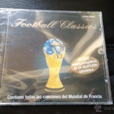 Música de colección: CD FOOTBALL CLASSICS CONTIENE HIMNO NACIONAL SELECCIÓN ESPAÑOLA FÚTBOL MUNDIAL FRANCIA 1998. Lote 54245302