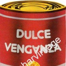 Música de colección: AFICHE PUBLICITARIO DEL GRUPO DULCE VENGANZA,1989, 118X202MM. Lote 54339149