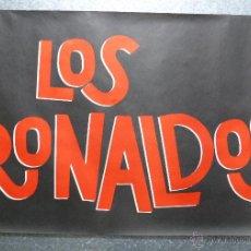 Música de coleção: CARTEL LOS RONALDOS, COQUE MALLA - AÑOS 1990. Lote 178548842